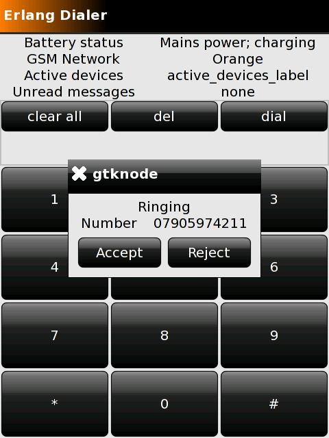 Erlang OpenMoko userland (2008)